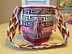 Wayuu Mochila Handbag Tote Purse Colombian Handmade