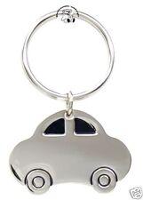 Auto Schlüsselanhänger Gravur Metall silberfarben  AB-SH-08