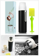 480ML Stainless Steel Vacuum Double-Walled Flask Coffee Thermos Bottle & Cup