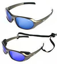 Gafas de sol de hombre de espejo deportivo de plástico