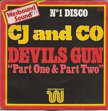 CJ and CO Devils gun FRENCH SINGLE DISCO 1977