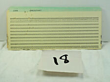 LOT OF 18 Vintage IBM FORTRAN Computer Data Punch Cards punched BSC 5081