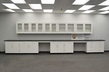 -Laboratory 22' BASE 17' WALL  Furniture / Cabinets / Case Work / Benches /Tops-
