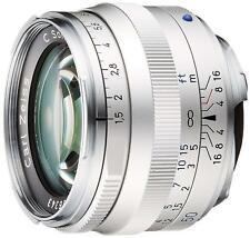 Carl Zeiss C Sonner T * 1.5 / 50 ZM SV Silver for Leica M New in Box