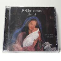 A Christmas Heart New CD John G Elliott Holiday Music