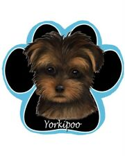 Yorkipoo Puppy Mixed Breed Dog Paw Print Mousepad Durable Easy Clean Mp-127