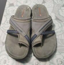 Merrell Blue Leather Genoa Sandals Size 6