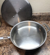 ALL-CLAD Copper Core 3 Qt Saute Pan with Lid ~ Used