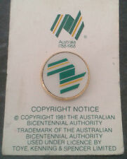 RARE AUSTRALIA ☆ NEW PIN BADGE ☆ AUSTRALIAN ☆ 1981 COMMONWEALTH