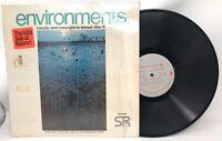 ENVIRONMENTS vinyl LP 6 - DAWN & DUSK in OKEFENOKEE SWAMP - SD 66006 VG+ RARE