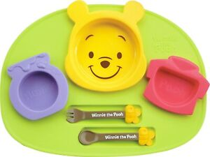 Disney Winnie the Pooh icon Baby kids Tableware Dishes Plate set
