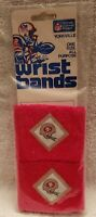 1980s San Francisco 49ers Wristbands NFL OFFICIAL FOOTBALL Sweatband SEALED NEW