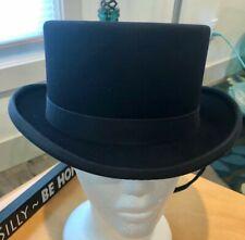 NEW Navy blue Kentucky Top HAT, 7 1/8 Dressage saddleseat sidesaddle steam punk