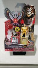 Power Rangers Super Megaforce - Red, Yellow, and White Legendary Ranger Keys