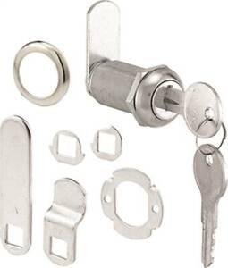 "Prime-Line  CASE OF (6) U 9950KA KEYED ALIKE Drawer & Cabinet Locks 3/4"" 0528398"