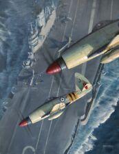 Westland Wyvern HMS Eagle Royal Navy Plane Aircraft Painting Aviation Art Print
