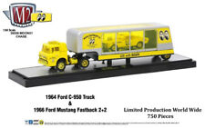 M2 Machines 1/64 1964 Ford C-950 Truck Mustang Fastback 36000-MOON01 Chase Car