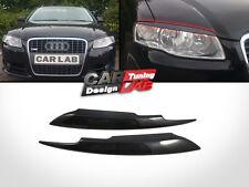 2005-2008 Audi A4 S4 B7 Sline Black eyelids eyelid eyebrows Headlight Covers