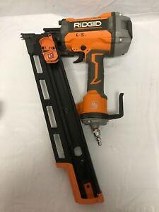 Ridgid R350RHF Nail Gun 21 Degree 3-1/2 in. Round-Head Framing Nailer G #2