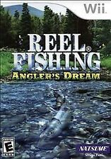 NINTENDO Wii~REEL FISHING ANGLER'S DREAM~2009 NEW SEALED Wii GAME~NATSUME, INC.