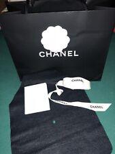 CHANEL SHOPPING BAG, RIBBON, CAMELLIA FLOWER, CARD RECEIPT HOLDER