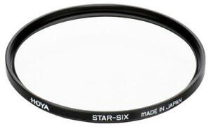 HOYA Star-6, Star, SIX, Sternfilter, 37,46,49,52,55,58,62,67,72,77,82mm, Filter