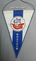 Wimpel 22 cm FC Hansa Rostock 3. Bundesliga DDR Oberliga FCH DFV Kogge