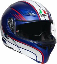CASCO MODULARE AGV COMPACT ST BOSTON BLUE - WHITE - RED TAGLIA S
