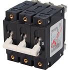 Blue Sea 7287 Triple Pole Circuit Breaker C-Series White Toggle 50A
