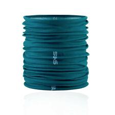 Skins Unisex Neck Gaiter Blue Green Sports Outdoors Running Water Resistant