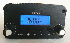 FM stereo PLL transmitter broadcast 76--108MHZ 1W/7W +small antenna