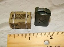 """1:18  BBI Elite Force US Army MRE Ration Box / Jerry Can Set fits 3.75""""  Figures"""