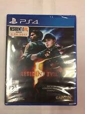 Resident Evil 5 (PlayStation 4 PS4) ***BRAND NEW FACTORY SEALED***