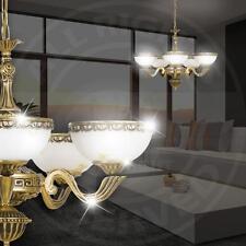 MIA Antik Kronleuchter Ø650mm/ Golden/ Glas/ Messing/ Lampe Leuchte Lüster Lüste