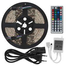 5M LED 5050RGB Strip Lichtkette Band,300LEDs Leiste Streifen Lichter+Netzteil