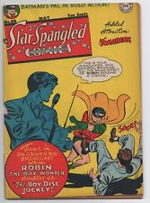 Dc Star Spangled Comics 80 1948 Robin Cover Early Tomahawk Robotman