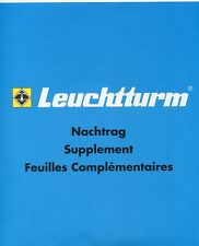 "Leuchtturm SF-Nachtrag ""Schweiz - Suisse"" 2020, 5 Blatt, Art. Nr. 364604"