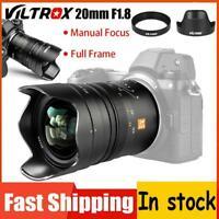 Viltrox 20mm F1.8 Full Frame Lens for Nikon Z Mount Camera Z6 Z7 Z Mount Camera