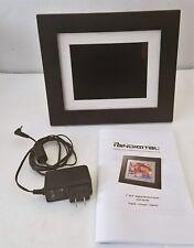 "PanDigital 7"" LCD Digital Photo Frame On/Off Alarm CF SD 1024MB 4:3 PAN7000DW"