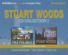 Stuart Woods CD Collection 2: Cold Paradise and The Short Forever (Stone Barring