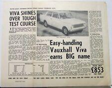 Circa 1960 Vauxhall Viva Australian Sydney News Review Lang Park Melbourne Orig