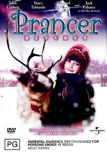 Prancer Returns -Rare DVD Aus Stock -Family New Region 4