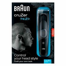 Braun Cruzer 5 Head 2 in 1 Hair Cutting Machine BNIB