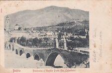 BOBBIO - Panorama e Vecchio Ponte San Colombano