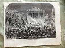 a2h ephemera 1863 picture lancaster procession by torchlight
