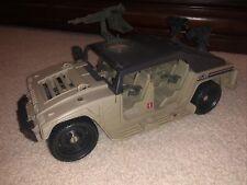 New listing 1990 Gi Joe Hammer Humvee Incomplete but close Look!
