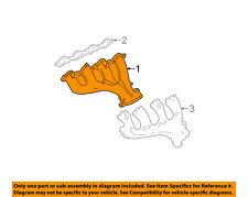 GM OEM-Exhaust Manifold 12677665