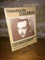 L'inoubliable Django Reinhardt album 15 compositions guitare. René Duchossoir