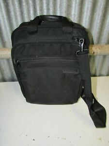 Briggs & Riley Travelware Laptop Briefcase Travel Shoulder Bag w/Insert Black