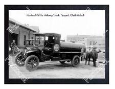 Historic Standard Oil Co. Delivery Truck, Newport, Rhode Island Postcard